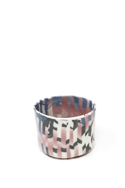 Weaving Striped Porcelain Mug