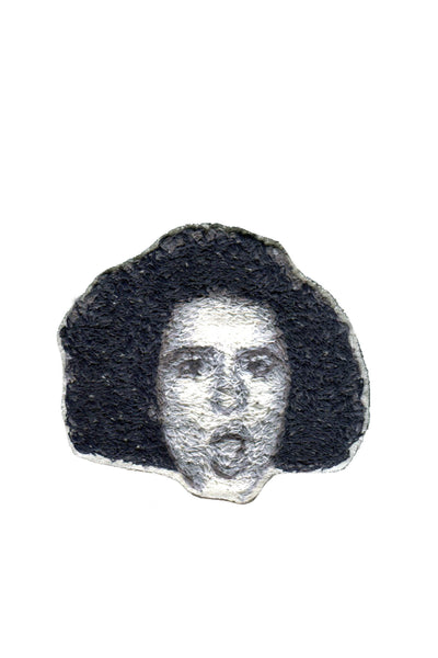 Ilana Glazer Embroidered Portrait Pin - Young & Able