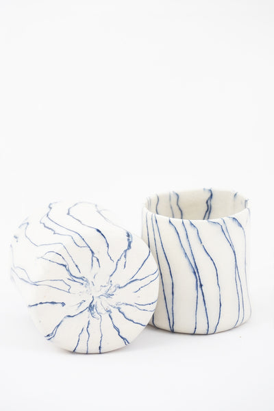 wavy blue stripe mug - Young & Able  - 2