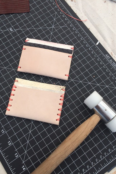 4/20 Leather Card Wallet Workshop