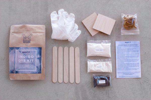 At-Home Indigo Dye Kit - Young & Able  - 3