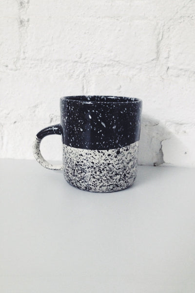 Speckled Mug - Black - Young & Able  - 2