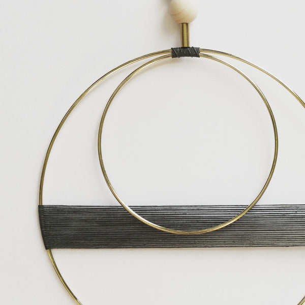 BRASS MULTI GEO WALL HANGING