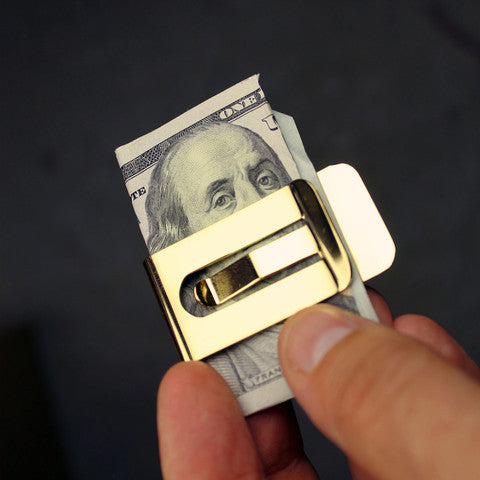 18K Gold Money Clip - Young & Able  - 3