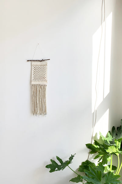 Linen & Lace Handwoven Tapestry