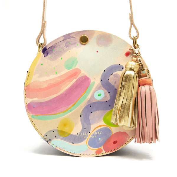 Cloud Wash Circle Bag