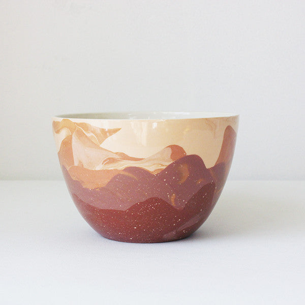 Marbled Terra Bowl