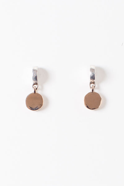Half & Full Circle Earrings
