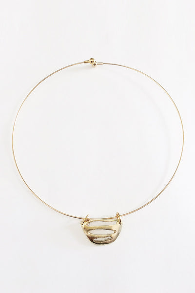 Proxima brass choker - Young & Able