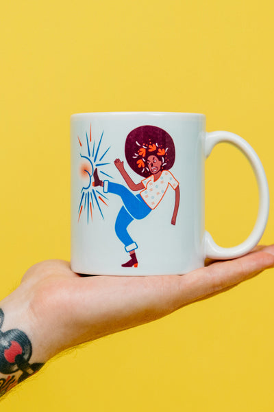 Ladies Kicking Butt Mug