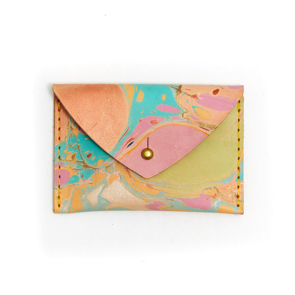 Marble Envelope Wallet