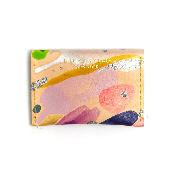 Cloud Wash Envelope Wallet