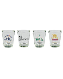 2020 Triple Crown Shot Glass Set