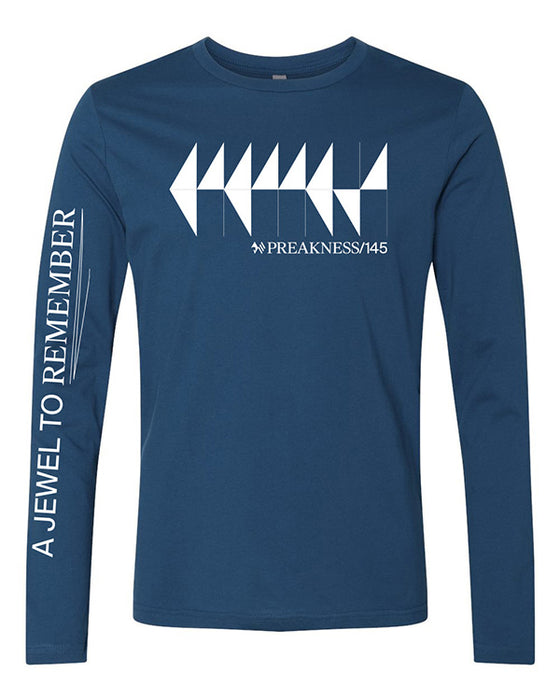 Preakness 145 Next Level Long Sleeve Crew