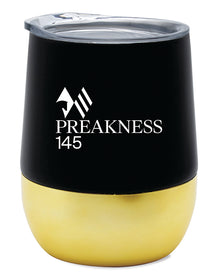Preakness 145 Collins Double Wall Stainless Steel Thermos Tumbler with Vacuum Insulation 12 Oz.