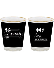 Preakness 145 Wrap Shot Glass 2 Oz.