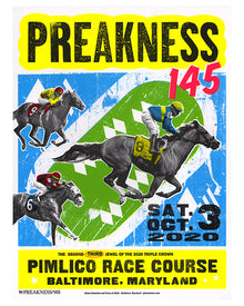 Limited Edition Preakness 145 Poster