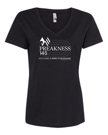 Preakness 145 Next Level Women's Fine Jersey Relaxed V T-Shirt
