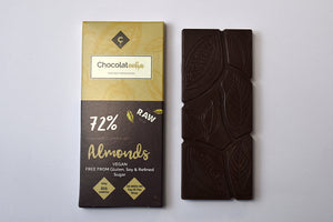 Raw Chocolate with Almonds