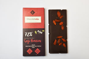 Raw Chocolate with Goji