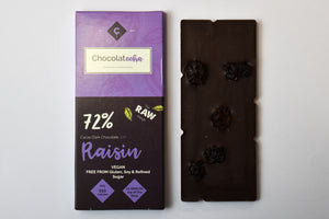 Raw Chocolate with Raisin