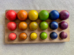 18 Wooden Ball Set
