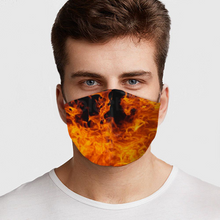Load image into Gallery viewer, Fire Face Cover