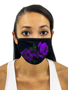 Roses Face Mask With Filter Pocket