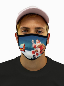 Santa Claus Mask with Pocket Filter