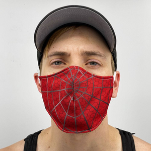 Spider Web Spiderman Face Cover