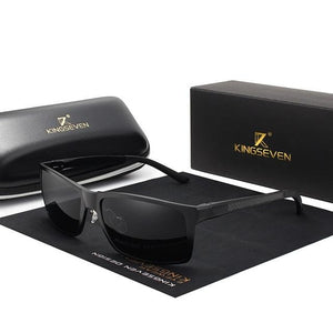 Kingseven Rectangular Full-Framed Sunglasses