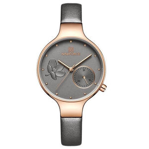 Naviforce Women's Leather Fashion Watch