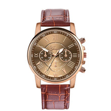 Load image into Gallery viewer, Geneva Women's Leather Watch