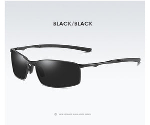 Aoron Sleek Rectangular Sunglasses