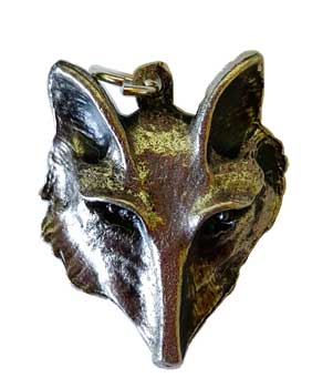 Fox Head amulet