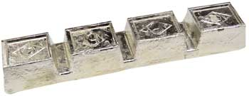 1 Lb Pewter ( bars vary about 4.5#'s each)