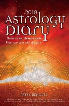 2018 Astrology Diary by Patsy Bennett