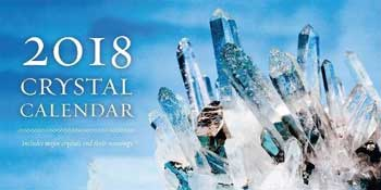 2018 Crystal Calendar by Rachelle Charman