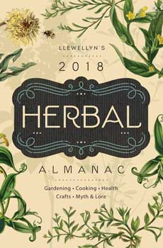 2018 Herbal Almanac by Llewellyn