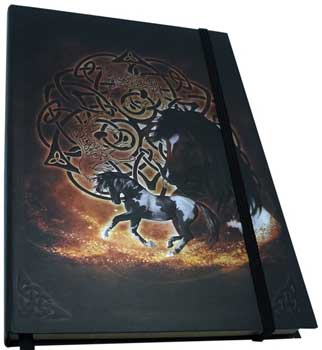 "5 1/2"" x 8"" Celtic Horse journal"