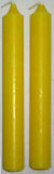 Yellow Chime Candle 20 pack