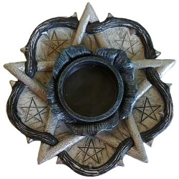 Pentagram  holder
