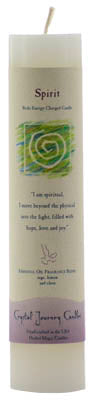 Spirit Reiki Charged pillar candle