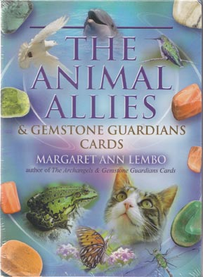 Animal Allies & Gemstone Guardians cards by Margaret Ann Lembo