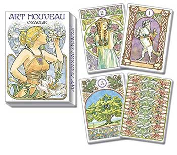 Art Nouveay Lenormand by Weatherstone & Castelli