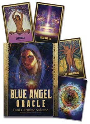 Blue Angel oracle deck & book by Toni Carmine Salerno