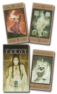 Labyrinth tarot deck by Luis Royo