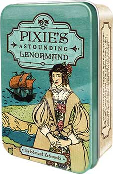 Pixie's Astonding Lenormand tin by Edward Zebrowski