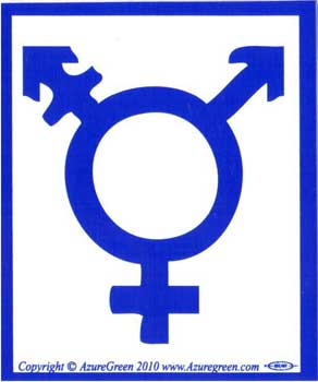 Transgender bumper sticker