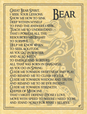 Bear Prayer poster